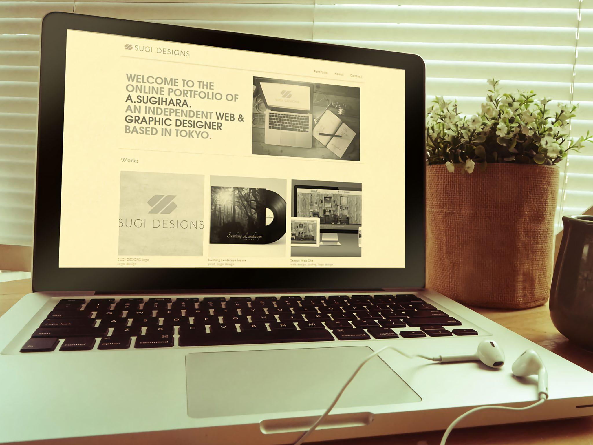 SUGI DESIGNS WEB SITE