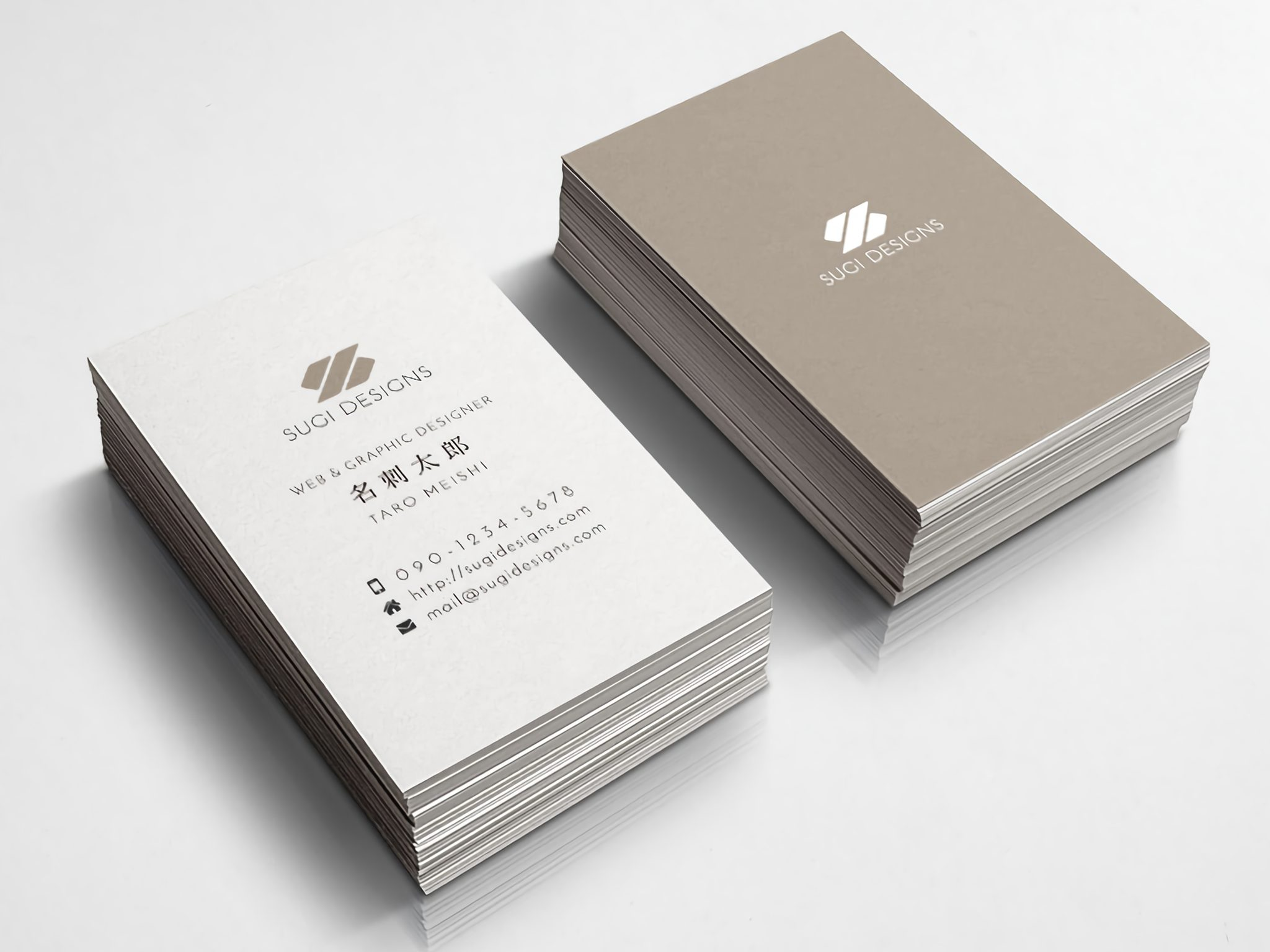 SUGI DESIGNS BUSINESS CARD