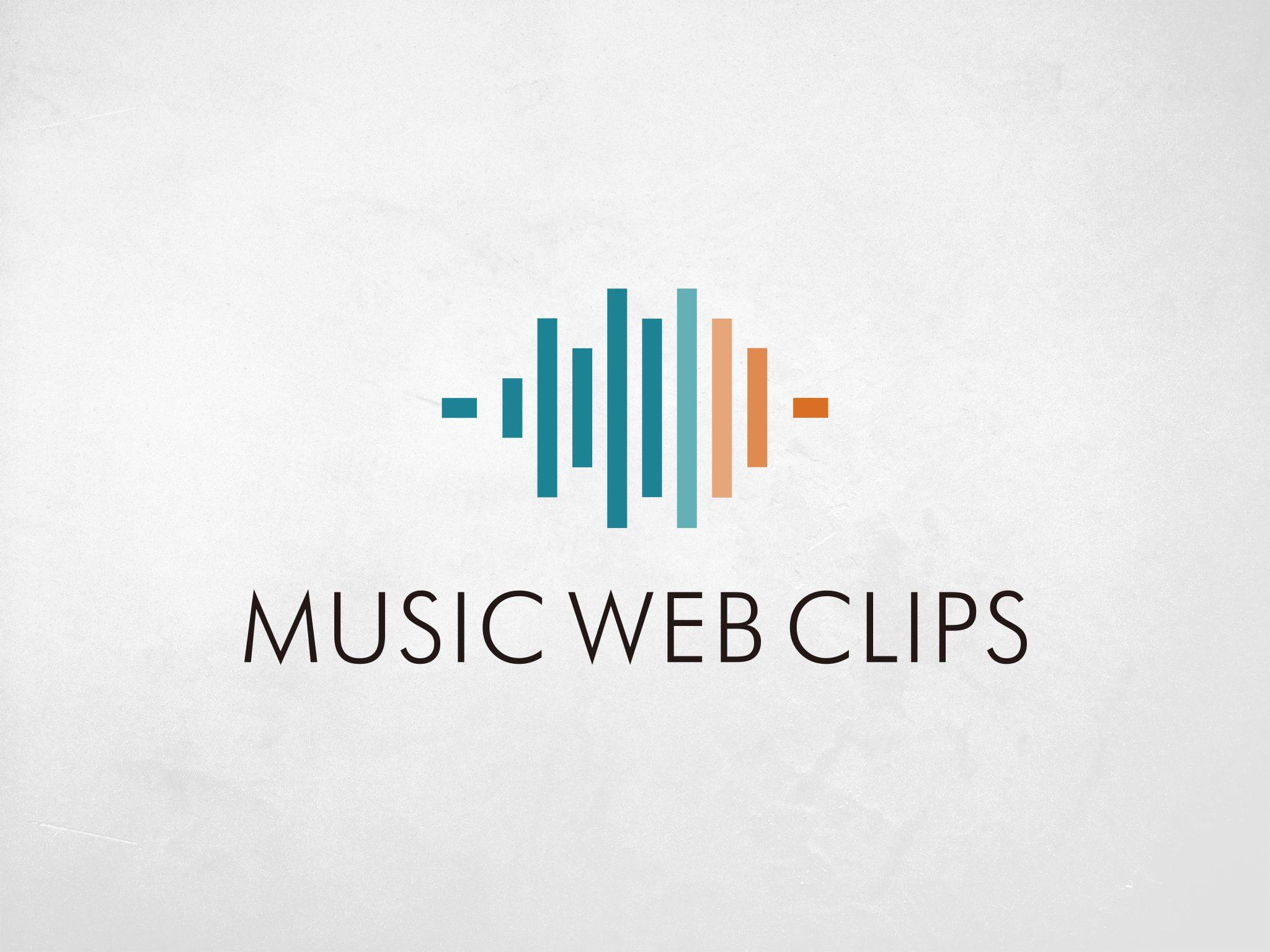 MUSIC WEB CLIPS LOGO