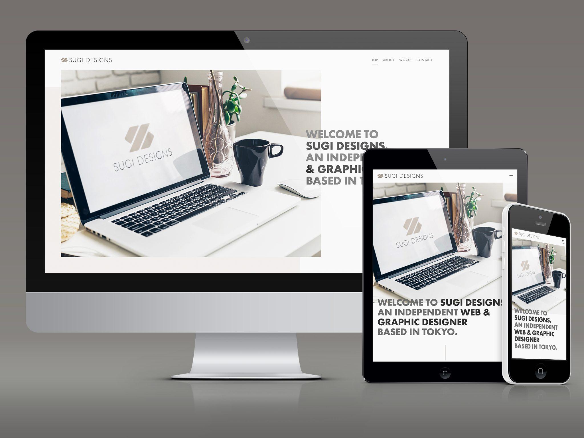 SUGI DESIGNS WEB SITE RENEWAL